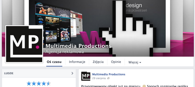 Multimedia Productions na Facebooku!